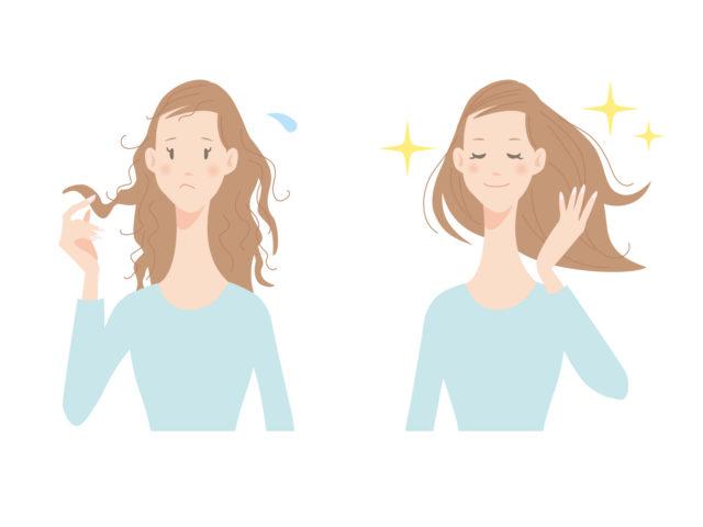 髪の紫外線対策で潤いある髪をキープ